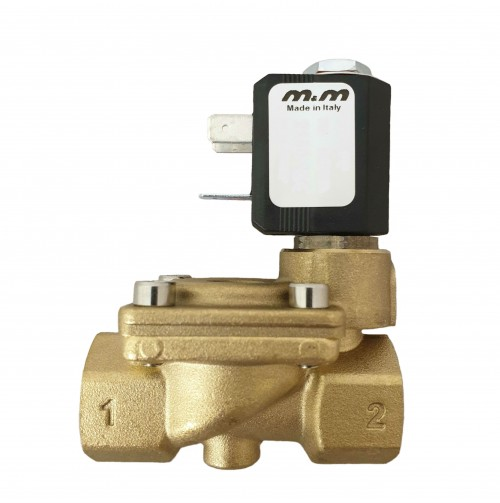 2/2 NC Pilot Operated Solenoid Valve with Coil
